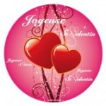 sticker joyeuse st-valentin