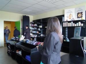 Meubles de boutique modulables