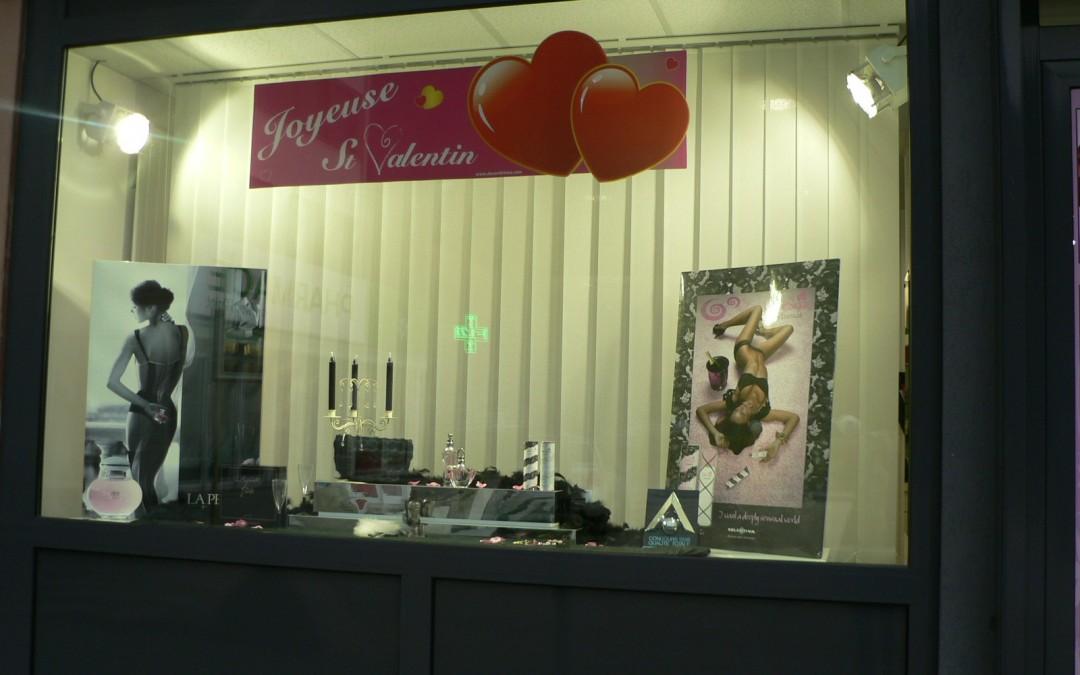 decoration vitrine parfumerie